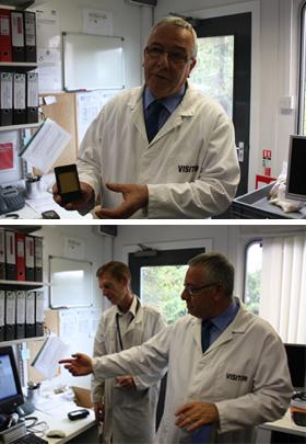 カナガンドッグフード BHA 酸化防止剤 品質管理 テストの様子