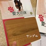 愛犬の床の資料請求をしてみた!サンプルに概算見積り、DVD・・・こんなに届きました〜!!気になる価格は?