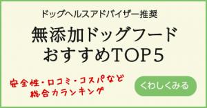 無添加ドッグフードおすすめTOP5